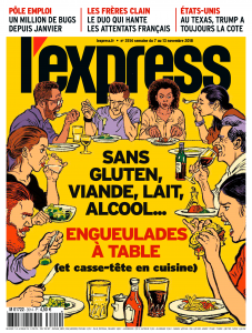 magazine l'express couverture