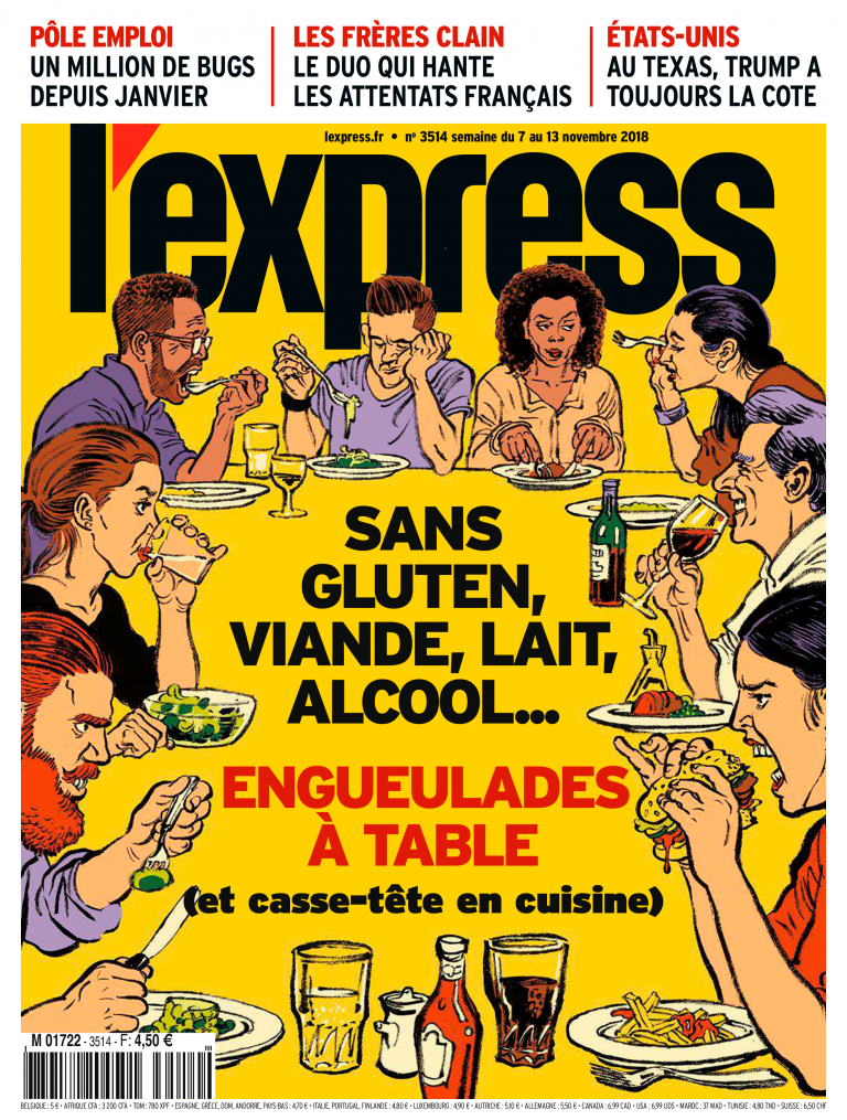 Couverture magazine l'express