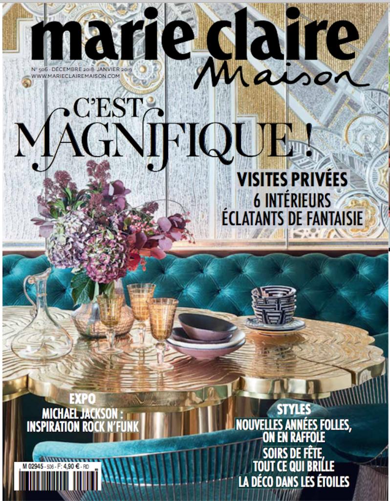 Couverture magazine marie claire maison