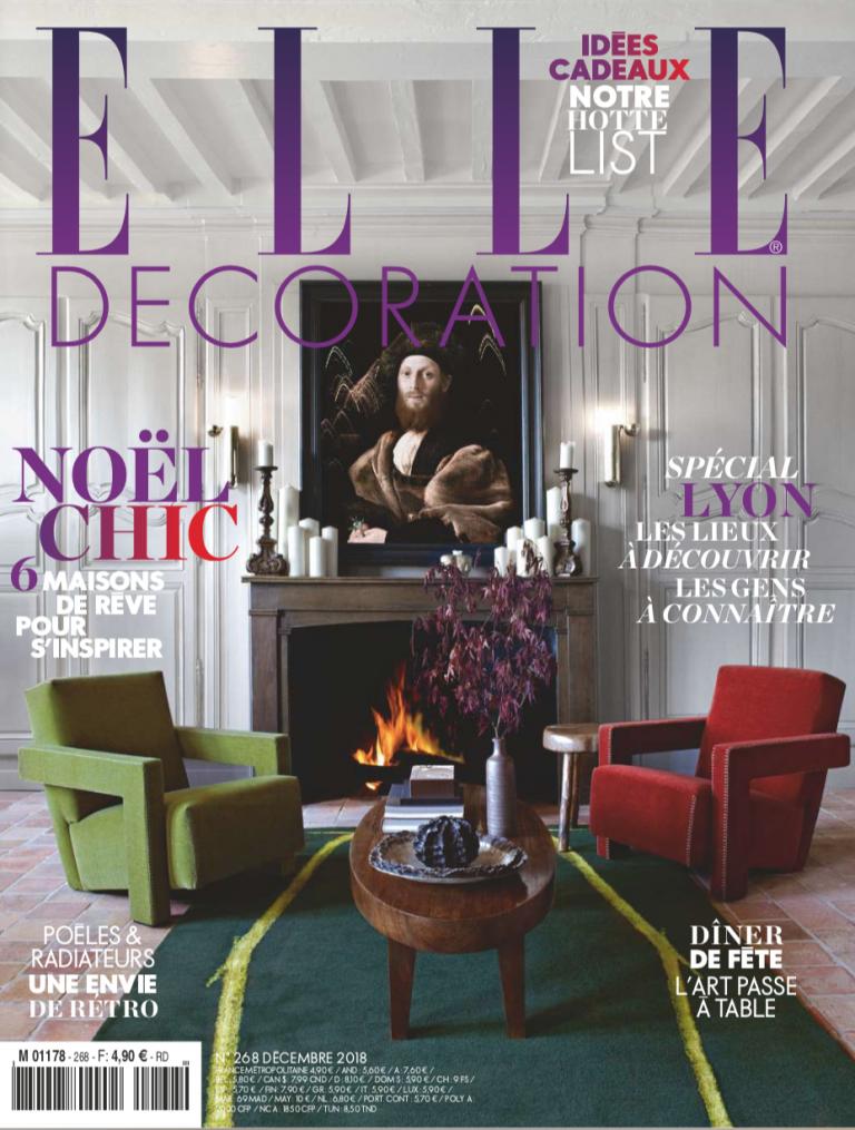 Couverture magazine elle décoration