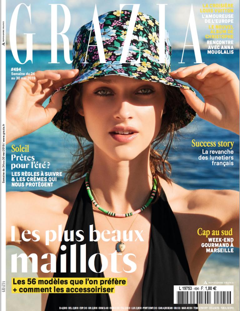 Couverture magazine grazia
