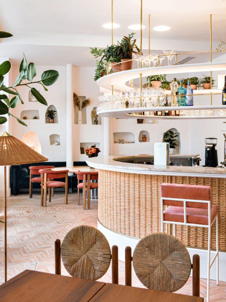 Bar restaurant La riviera Friedmann & Versace