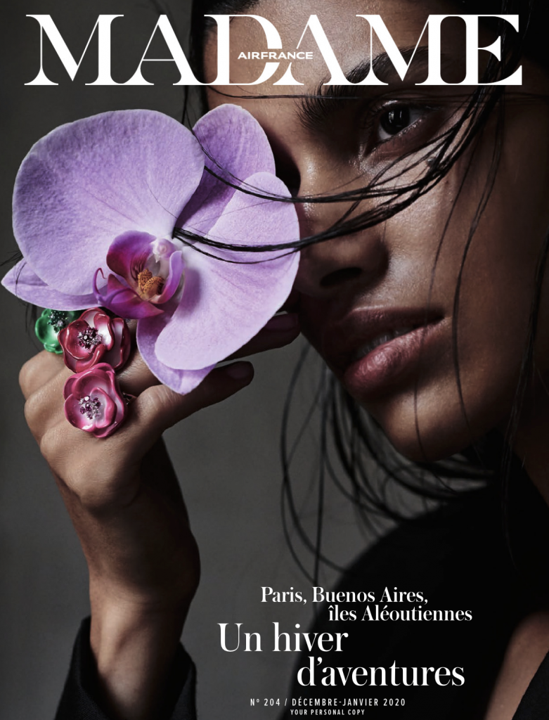Couverture magazine madame airfrance