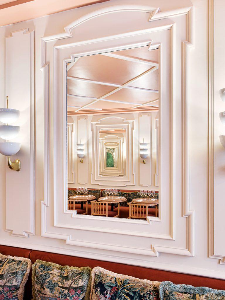 Miroir restaurant Ferona Friedmann & Versace