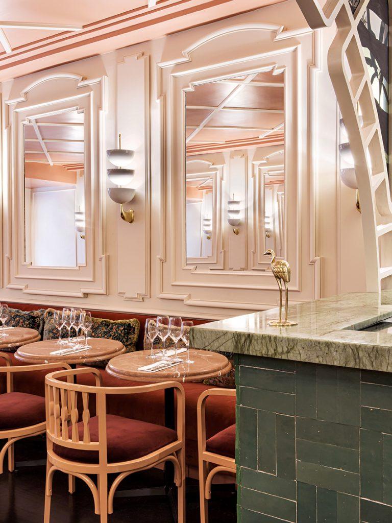 Bar restautant Ferona Friedmann & Versace