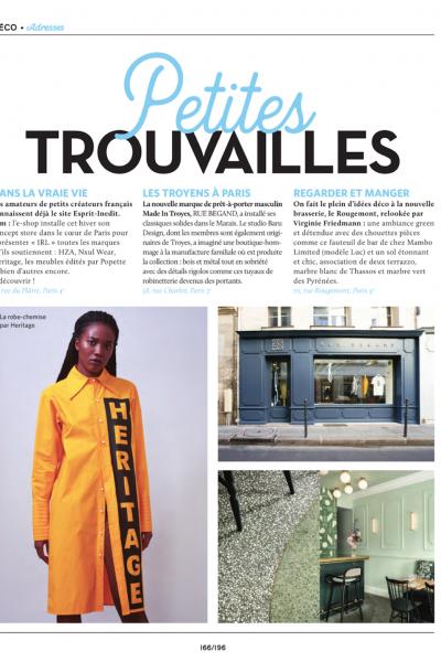 magazine vivre paris article